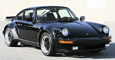 1977 Porsche 911 Coupe Turbo 1977 Porsche 930 Turbo