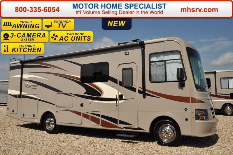 2017 Coachmen Pursuit 30FW W/Ext Kitchen Grill Jacks