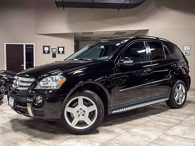 2008 Mercedes-Benz M-Class Base Sport Utility 4-Door 2008 Mercedes-Benz ML550 4Matic SUV P2 Premium PKG Tow Hitch Receiver Stunning