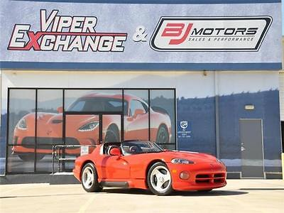 1993 Dodge Viper Sports Car 1993 Dodge Viper Sports Car 3,779 Miles Viper Red 10 Cylinder Engine 8.0L/488 6
