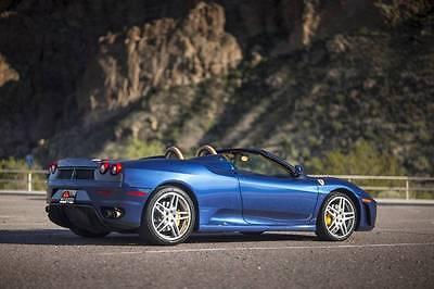 2006 Ferrari 430 Ferrari F430 Spider - TDF blue - Carbon Grill 2006 Ferrari F430 Spider - Stunning TDF Blue with Challenge Grill