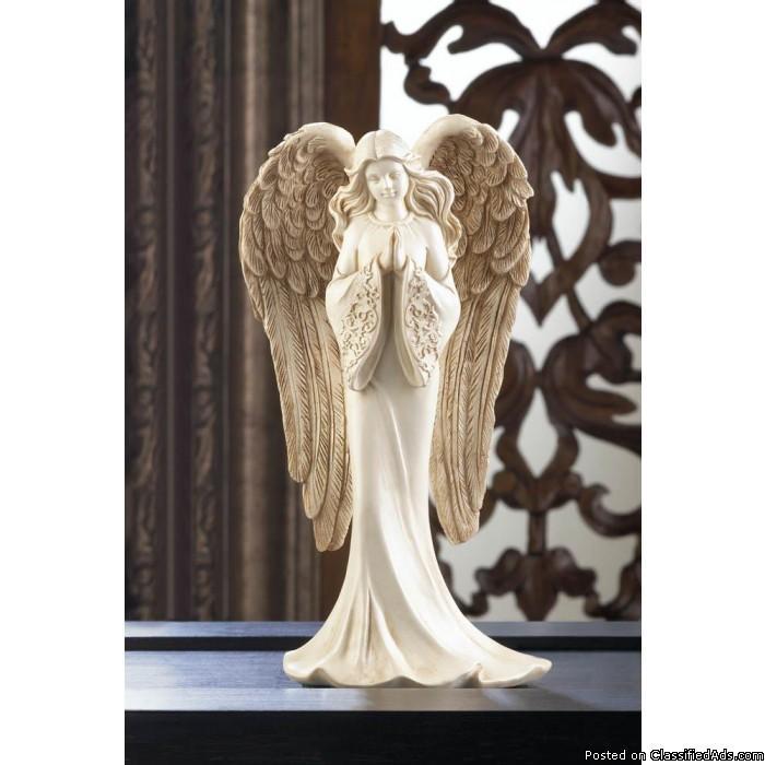 Praying Angel Figurine -Free shipping.