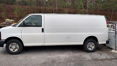 2010 Chevrolet Express Base Extended Cargo Van 3-Door 2010 Chevrolet Express 2500 Base Extended Cargo Van 3-Door 4.8L