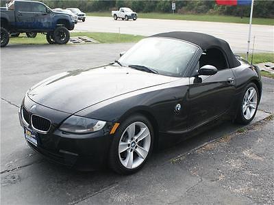 2007 BMW Z4 3.0i 2007 BMW Z4 3.0i 57,823 Miles Jet Black Convertible Straight 6 Cylinder Engine 3