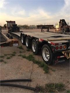 2015 XL Specialized Drop Deck Trailer For Sale in Big Spring, Texas  79720