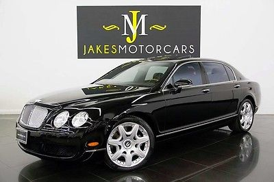 2008 Bentley Continental Flying Spur MULLINER 2008 CONTINENTAL FLYING SPUR, MULLINER PKG, BLACK ON BLACK, 68K MILES, SERVICED!