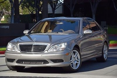 2003 Mercedes-Benz S-Class S55 AMG 2003 mercedes benz s 55 amg v 8 kompressor keyless go low miles 03 s 55