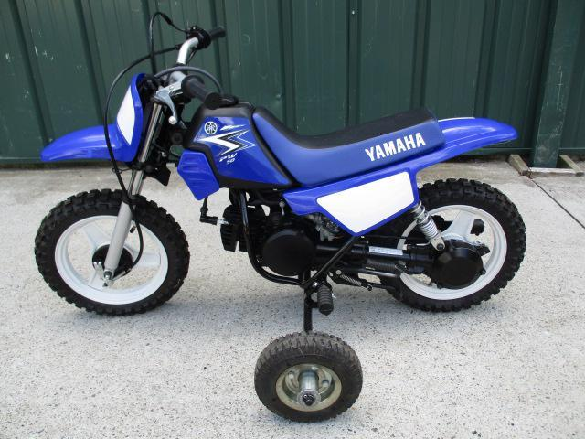yamaha pw50 with training wheels motorcycles for sale. Black Bedroom Furniture Sets. Home Design Ideas