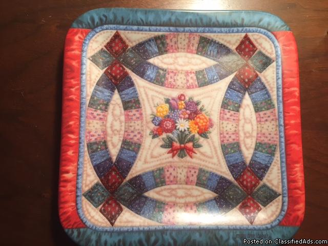 The Wedding Ring, quilt design plate