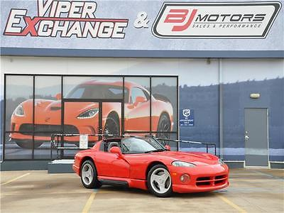 1994 Dodge Viper Sports Car 1994 Dodge Viper Sports Car 2,805 Miles Viper Red 10 Cylinder Engine 8.0L/488 6