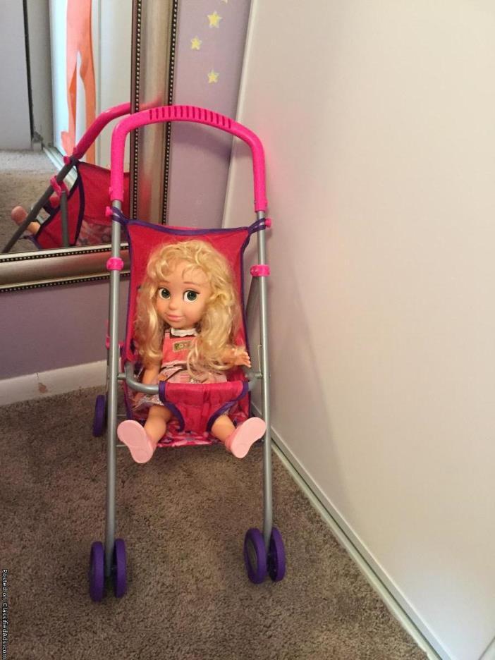Graco stroller/doll