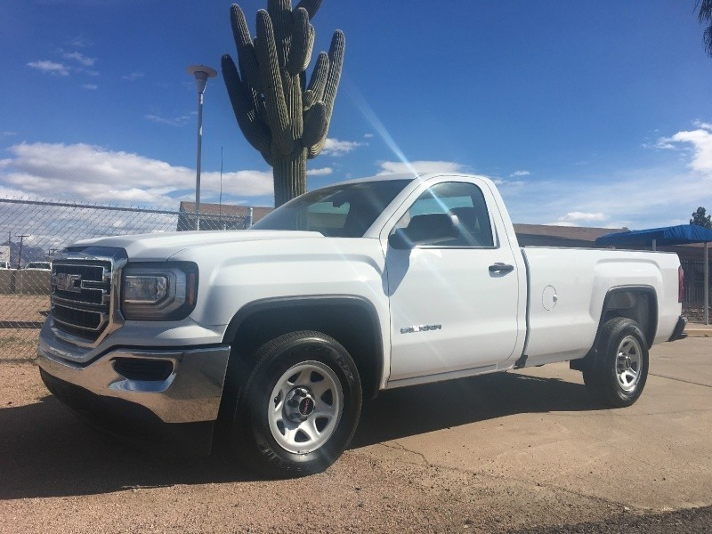 2016 GMC 1500 Sierra Regular Cab Long Bed Work Truck