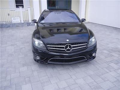 2009 Mercedes-Benz CL-Class 6.3L V8 AMG 2009 Mercedes Cl63 AMG Pristine Condition Clean Car Fax Fully Loaded Must See