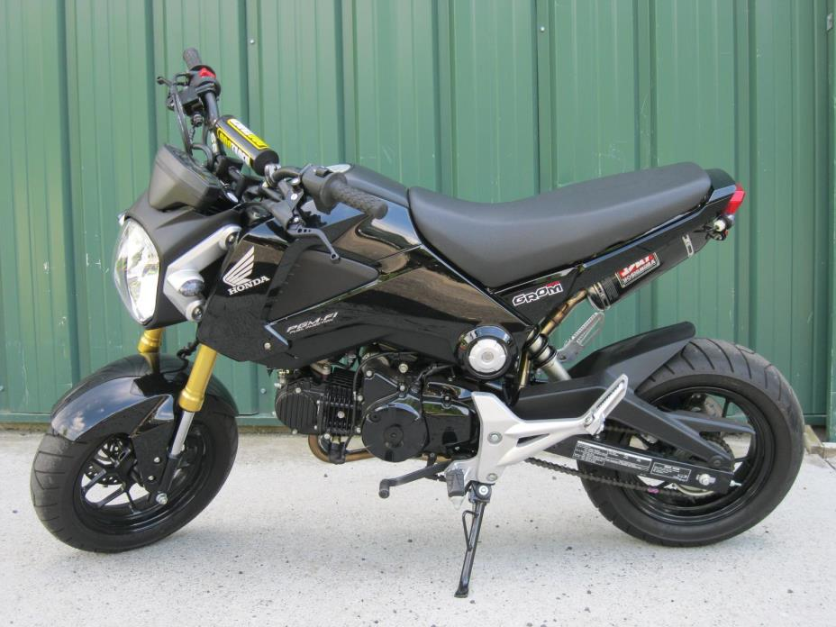 honda grom 125 like new ready to ride gr motorcycles for sale. Black Bedroom Furniture Sets. Home Design Ideas