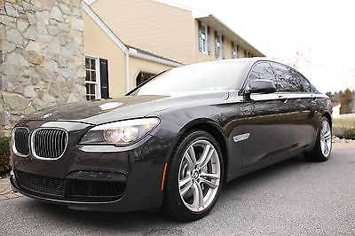 2012 BMW 7-Series 750Li xDrive M Sport $104,000+ MSRP CLEAN CARFAX LOCAL 2 OWNER 30+ SVC RECORDS 20