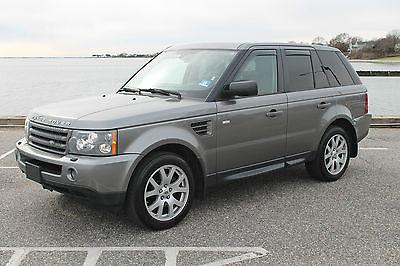 2009 Land Rover Range Rover Sport HSE Sport Utility 4-Door 2009 Land Rover Range Rover Sport HSE Sport Utility 4-Door 4.4L