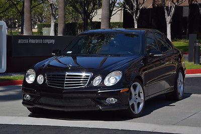 2007 Mercedes-Benz E-Class SPORT 2007 MERCEDES BENZ E350 AMG SPORT PANORAMIC XENON RARE SAKS FIFTH AVE EDITION