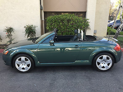 2001 Audi TT 6-SPEED AWD 225HP 4X4 4WD MAUNAL TRANS. 225HP AWD GARAGE KEPT LOW MILEAGE DING DENT + CORROSION FREE SOUTHERN CALIFORNIA