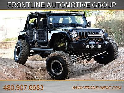2014 Jeep Wrangler Unlimited Rubicon Sport Utility 4-Door OVER $25K SPENT ON CUSTOM BUILD..LIFTED 1 OF A KIND LOOK!!