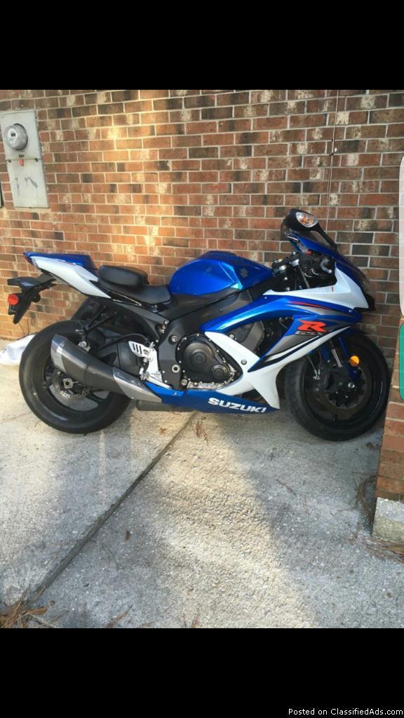 Suzuki GSX-R Motorcycle
