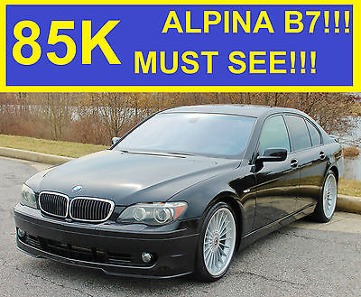 2008 BMW 7-Series ALPINA 2008 BMW ALPINA B7 SUPERCHARGED!! 7 SERIES 750I 5 SERIES M5 M7 CLK 07 09 10 11