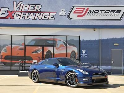 2014 Nissan GT-R Track Edition 2014 Nissan GT-R Track Edition 21,283 Miles Deep Blue Pearl 2dr Car V6 Cylinder