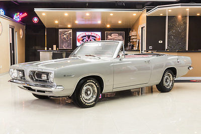 1967 Plymouth Barracuda  Fully Restored Convertible! 273ci V8, Automatic, PS, Power Top, Original Colors