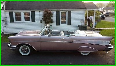 1957 Chevrolet Bel Air/150/210  1957 Chevrolet Bel Air Convertible Used Automatic