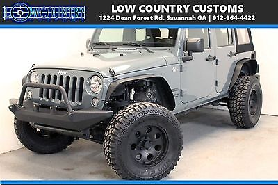 2014 Jeep Wrangler Sport lifted cheap only 20k miles unlimited