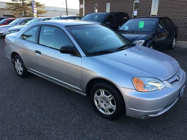 2001 Honda Civic LX 2dr Coupe
