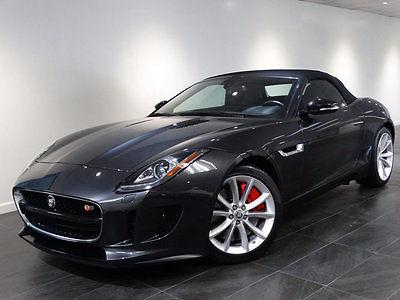 2014 Jaguar F-Type 2dr Convertible V6 S 2014 JAGUAR F-TYPE S CONV'T NAV VISION/CLIMATE/PERFORMANCE-PACK WARANTY MSRP$94k