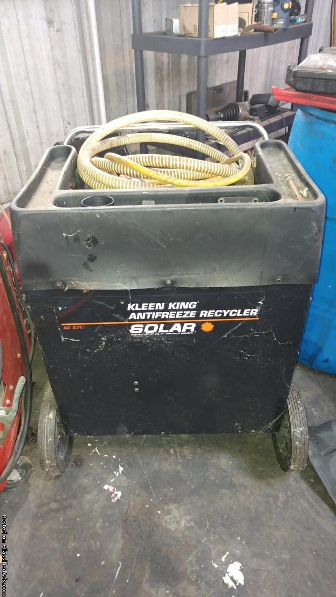 Auto Anti Freeze Recycle Machine