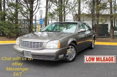 2003 Cadillac DeVille Why Wait? Chat with us on eBay messenger 24/7. 2003 Cadillac DeVille | LOW LOW MILES | CLEAN CarFax