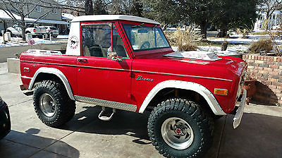 1976 Ford Bronco Half Cab  1976 Ford Bronco Half Cab, monster truck, custom truck, show truck rock crawler