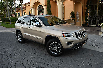 2015 Jeep Grand Cherokee Limited Sport Utility 4-Door 2015 Jeep Grand Cherokee Limited 2WD