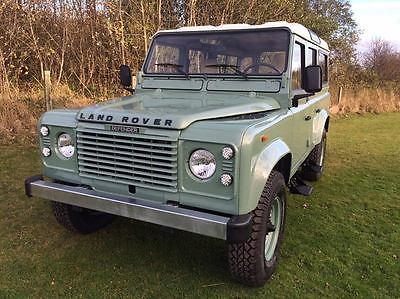 1980 Land Rover Defender 110 Station Wagon LEFT HAND DRIVE LAND ROVER DEFENDER 110 HERITAGE LIMITED EDITION SPEC LEFT HAND DRIVE LEATHER.
