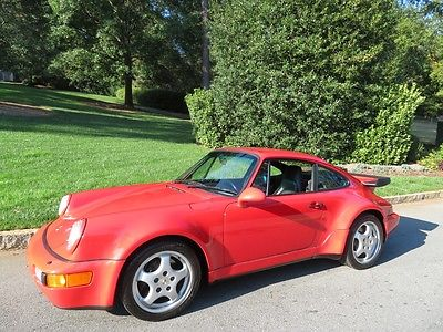 1991 Porsche 911 TURBO NICEST 964 1991 PORSCHE TURBO IN THE UNITES STATES! INVESTMENT QUALITY !
