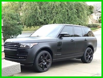 2013 Land Rover Range Rover Supercharged 2013 Land Rover Range Rover Supercharged, Owned by NFL Player,  4WD SUV Premium