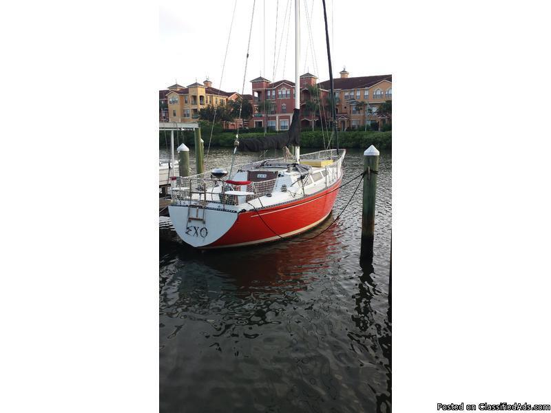 1979 S2 9.2A Sailing Yacht