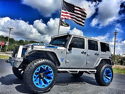 2017 Jeep Wrangler CUSTOM LIFTED LEATHER HARDTOP CUSTOM*LIFTED*LEATHER*HARDTOP*22