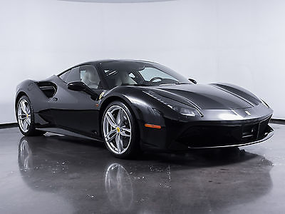 2016 Ferrari Other -- 2016 Ferrari 488 GTB  Nero Coupe V-8 Turbo