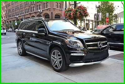 2016 Mercedes-Benz GL-Class 16' GL63 blk/blk clean 1-owner rudy@7734073227 2016 AMG GL63 4MATIC Used Turbo 5.5L V8 32V Automatic 4MATIC SUV Premium