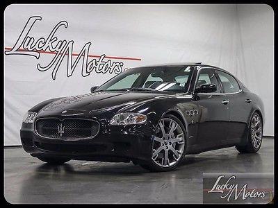 2008 Maserati Quattroporte 2008 Maserati Quattroporte GTS Alcantara w/ Full Carbon Fiber Interior! LOADED!!