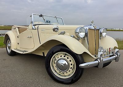 1952 MG T-Series Mark 2 1952 MGTD Mark II Competition Roadster, All Numbers Matching, Only 7,701 Miles!
