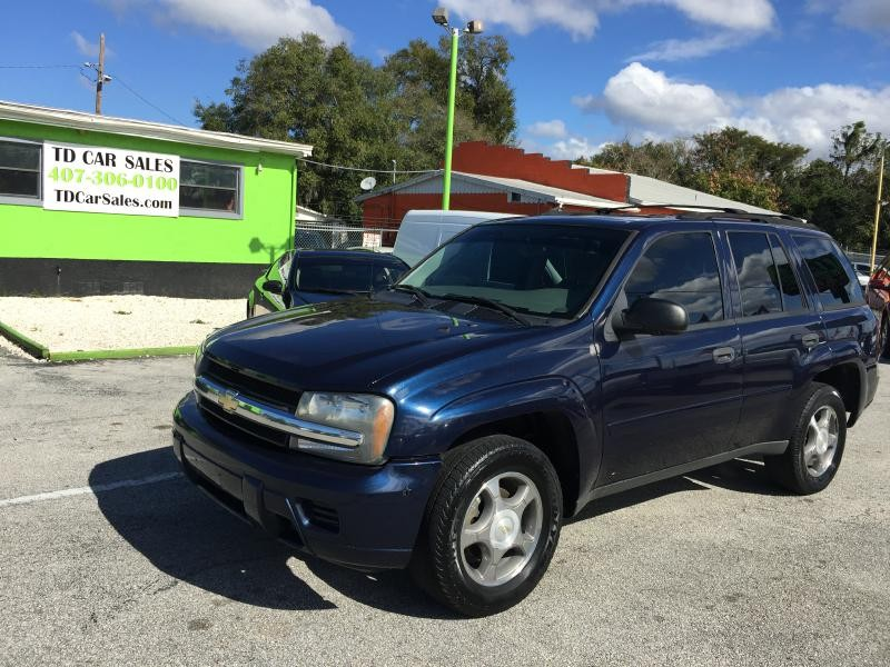 2008 CHEVROLET TRAILBLAZER LS