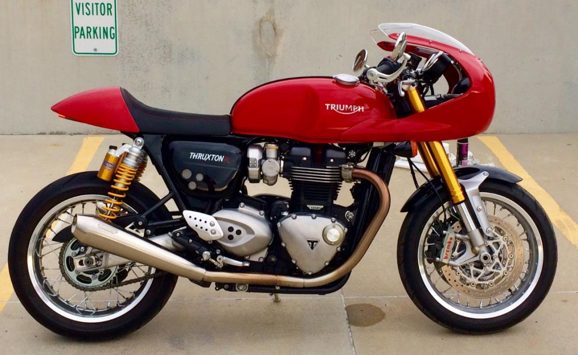 triumph thruxton special edition motorcycles for sale. Black Bedroom Furniture Sets. Home Design Ideas