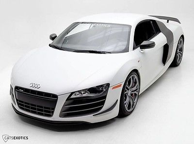 2012 Audi R8 GT uzuka Gray Matte - Full Clear Bra Protection -Extended Warranty - Low Miles -