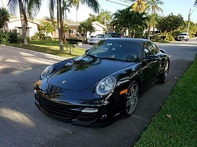 2009 Porsche 911 TURBO COUPE 2009 Porsche 911 AWD Turbo.  Pearl Black on Black. Tiptronic. Only 27k Miles.