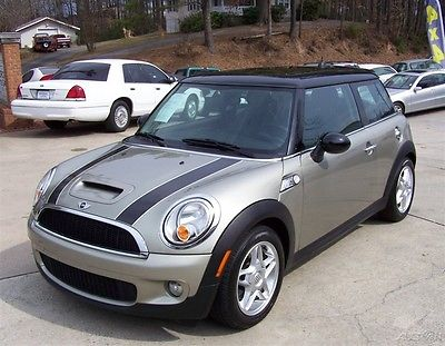 2007 Mini Cooper S 1-OWNER 46K PANORAMIC GLASS ROOF HEATED LEATHER TP NICE SHARP TURBO SPORT PADDLE AUTO SOUTHERN SERVICED AC RARE COLOR LOADED AUSTIN
