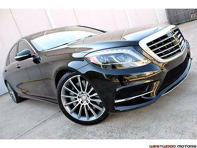 2015 Mercedes-Benz S-Class S550 Sport AMG P1 Pkg Driver Assist Surround View 2015 Mercedes-Benz S550 Sport AMG P1 Pkg Driver Assist Surround View 20